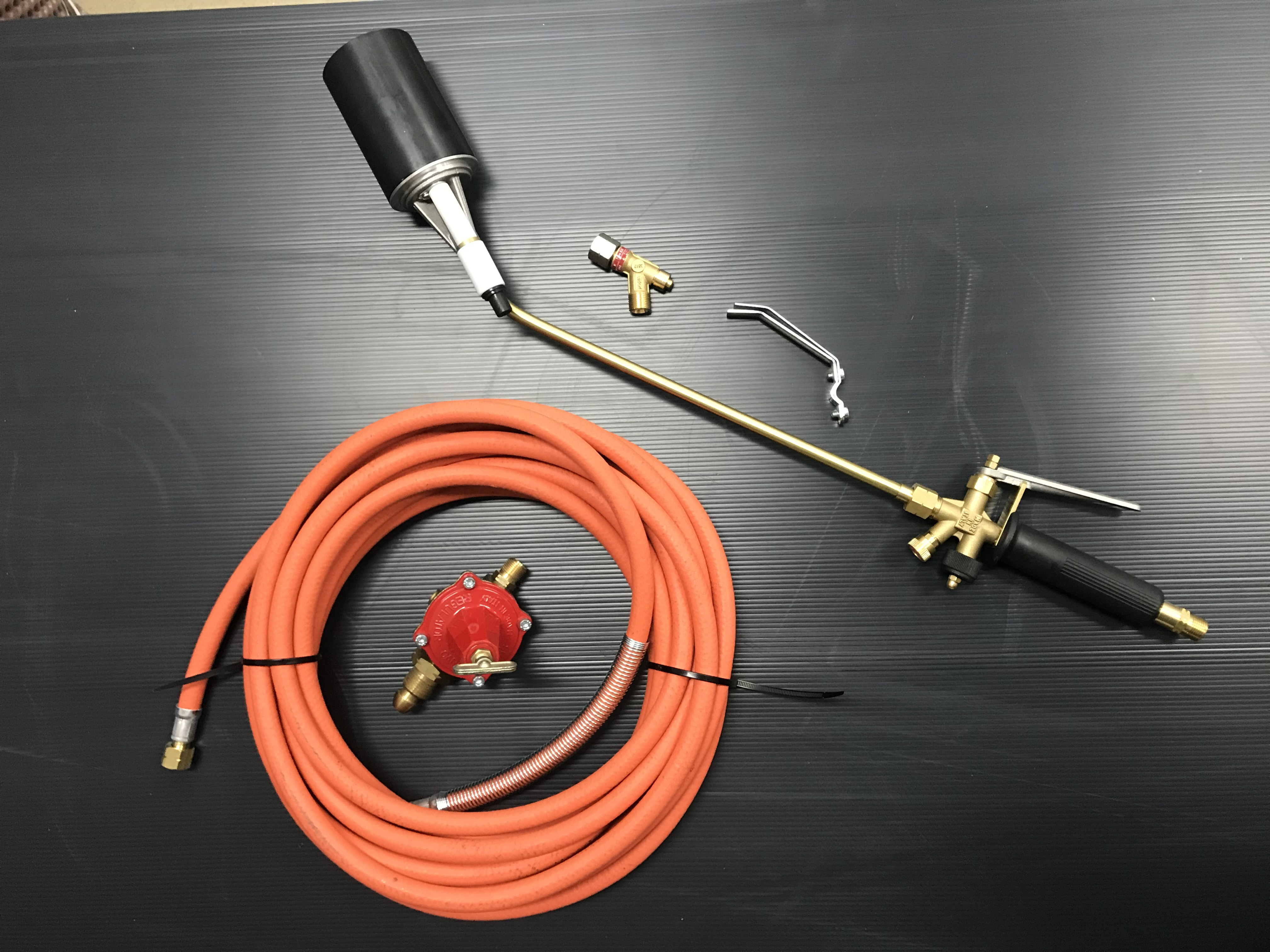 Gas Torch for Bitumen Membranes